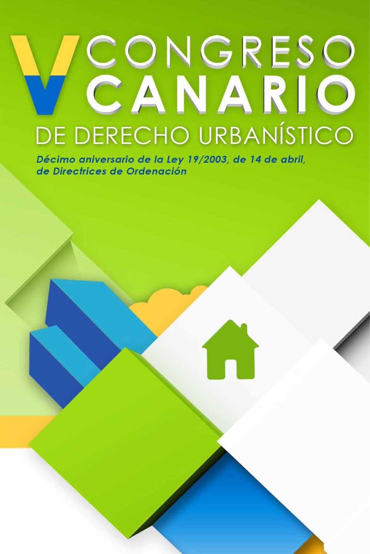 V Congreso Canario de Derecho Urbanístico