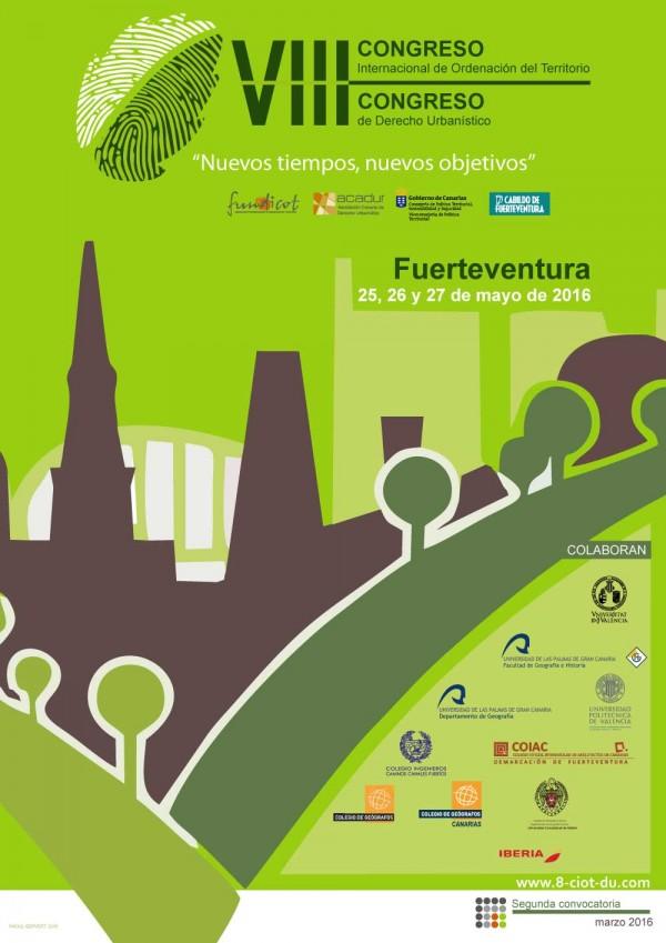 VIII Congreso Canario de Derecho Urbanístico y VIII Congreso Internacional de Ordenación del Territorio