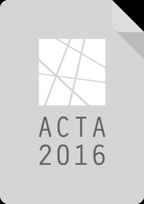 Acta de la Asamblea 2016