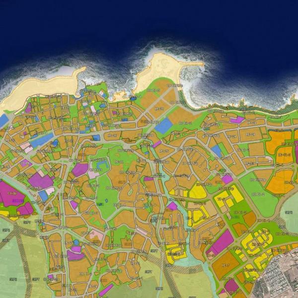 Planeamiento urbanístico sistematizado en el IDECanarias