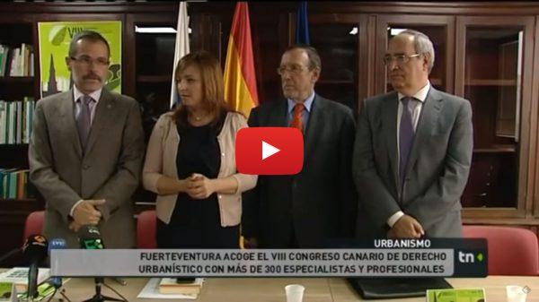 Rueda de prensa de presentación del VIII Congreso de Derecho Urbanístico