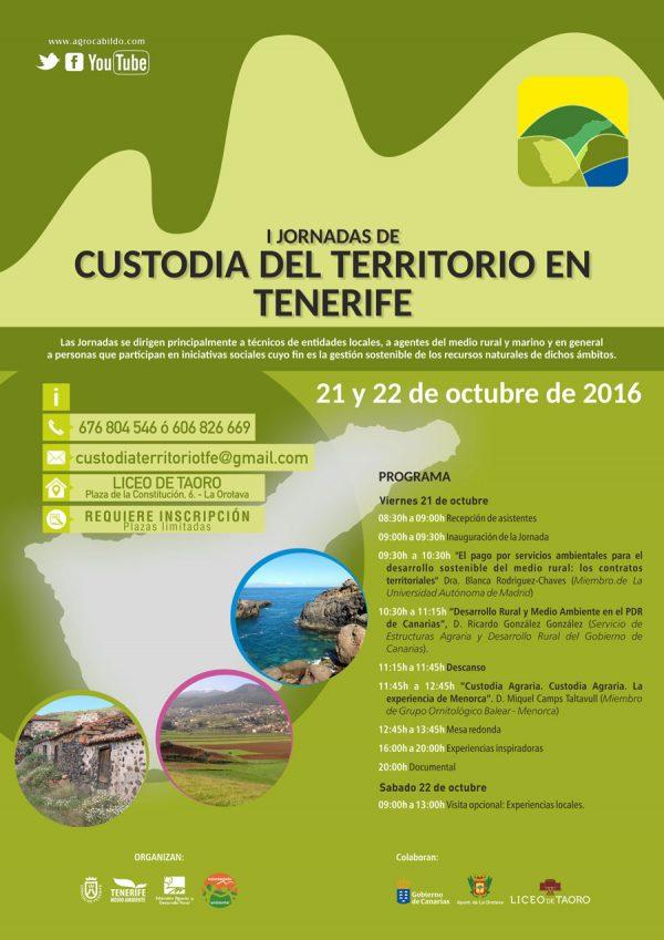 I Jornadas de Custodia del Territorio en Tenerife