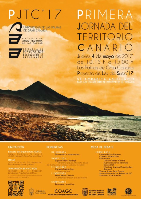 I Jornada del Territorio Canario PJTC'17