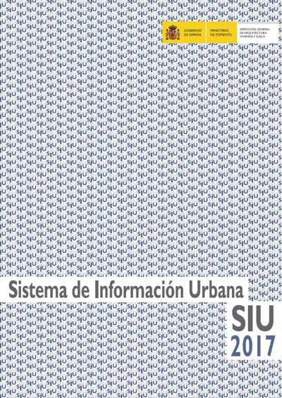 Publicación 'Sistema de información urbana SIU 2017'