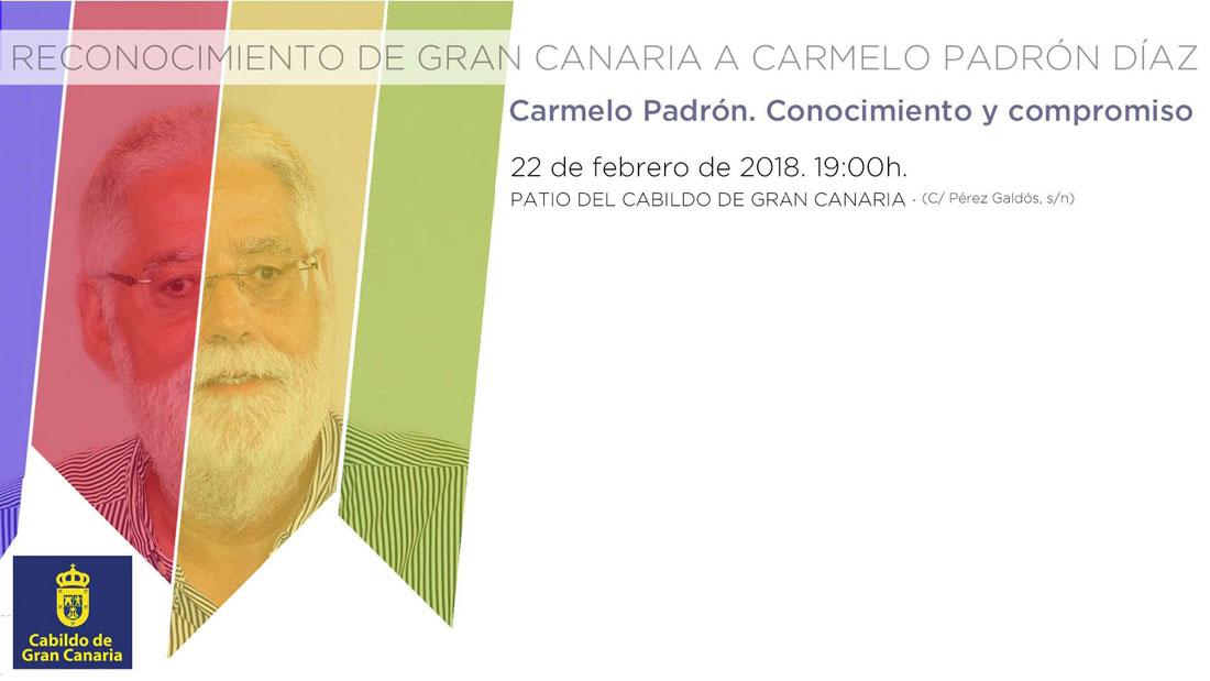 Homenaje a Carmelo Padrón Díaz