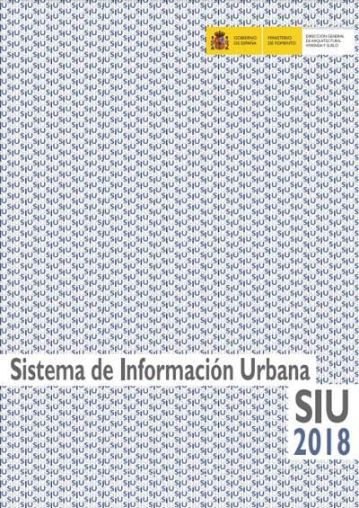 Sistema de información urbana SIU 2018