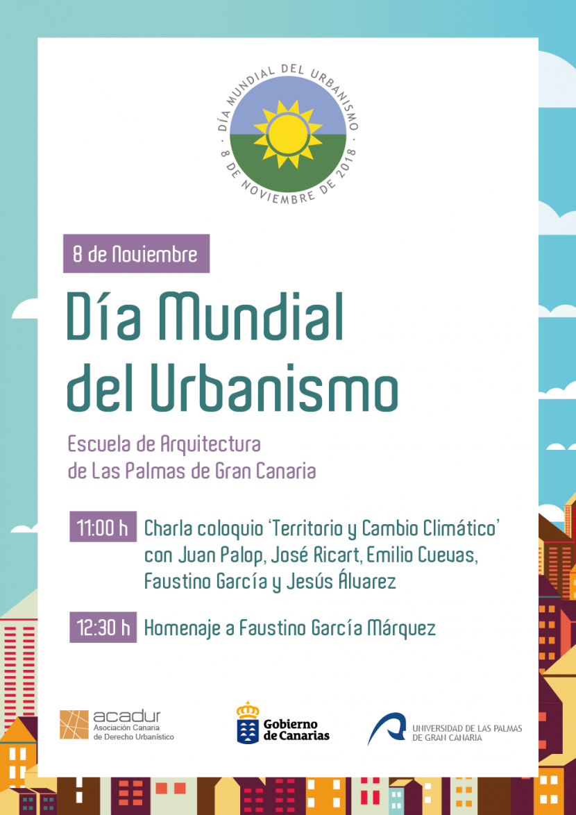 Día Mundial del Urbanismo 2018