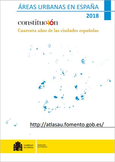 Áreas urbanas en España 2018