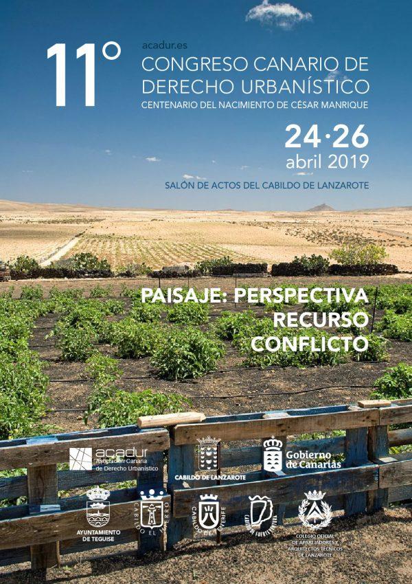 XI Congreso Canario de Derecho Urbanístico