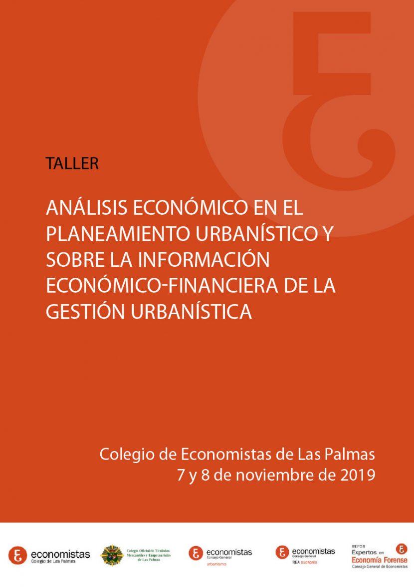 Taller Análisis económico en el planeamiento