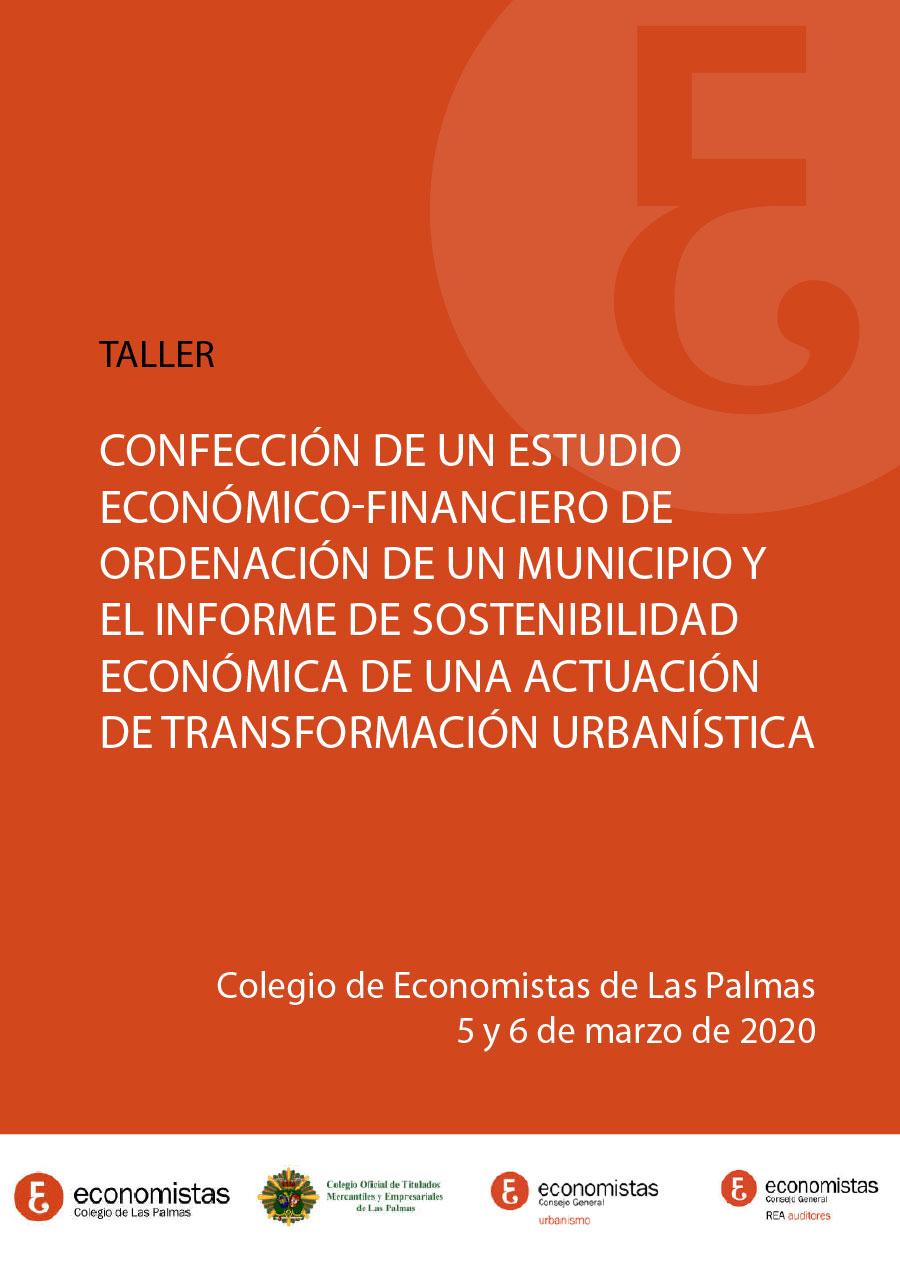 Taller Confección de un Estudio Económico-Financiero