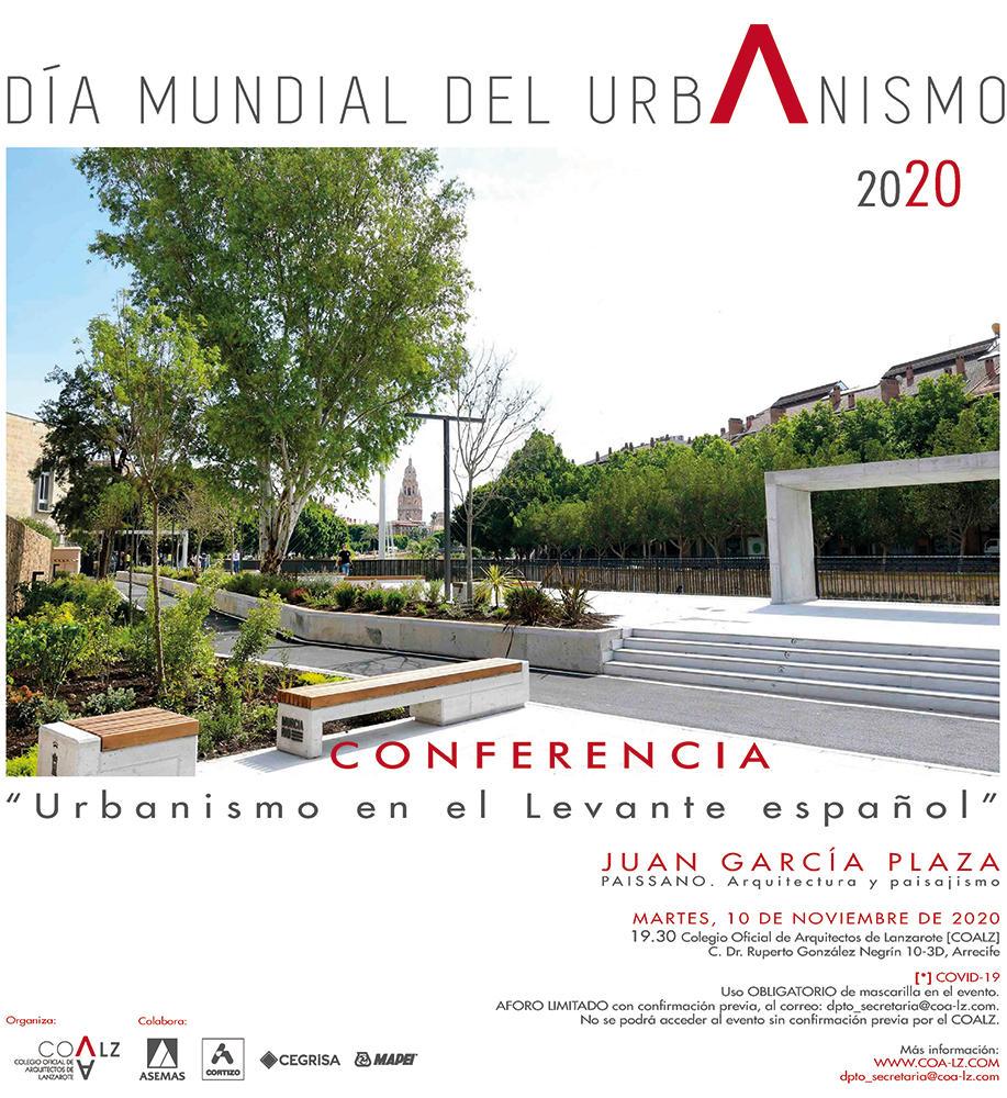 Día Mundial del Urbanismo. COA Lanzarote