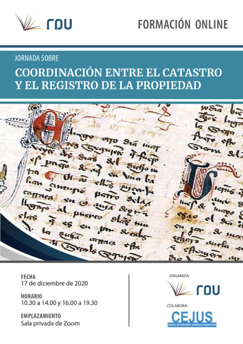 Coordinación entre el Catastro y el Registro de la propiedad