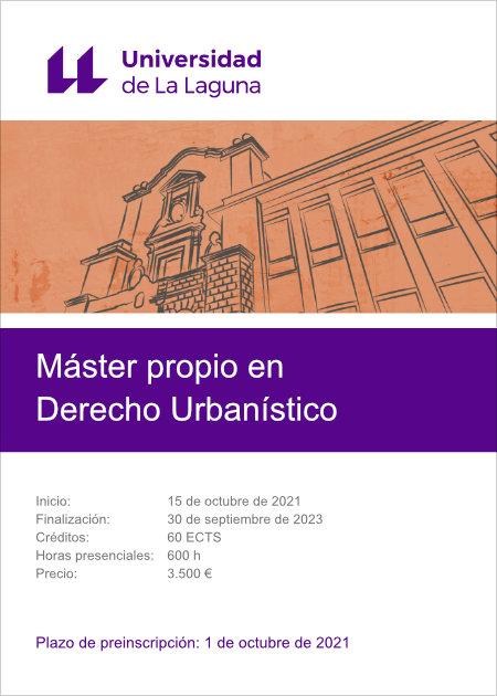 Máster de Derecho Urbanístico de la Universidad de La Laguna
