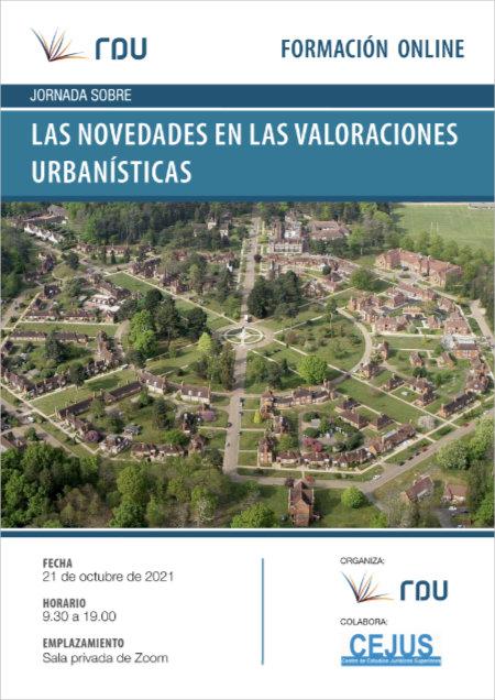 Jornada 'Las novedades sobre valoraciones urbanísticas'