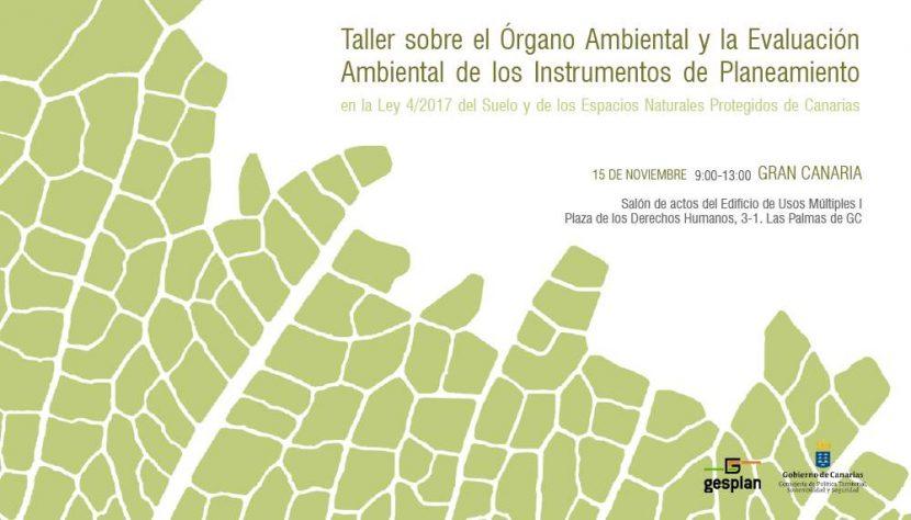 Taller sobre el Órgano Ambiental y la Evaluación Ambiental