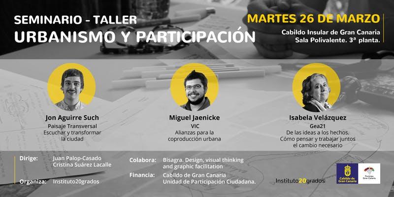 Seminario-taller 'Urbanismo y participación'