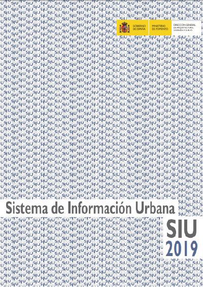 Sistema de información urbana SIU 2019