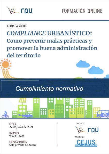 Curso 'Compliance urbanístico: Cómo prevenir malas prácticas y promover la buena administración del territorio'